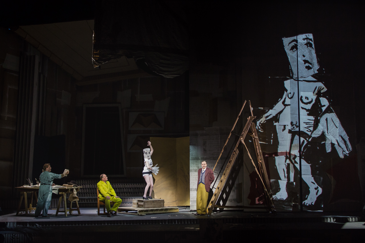 Sabine Theunissen, Lulu | Staging William Kentridge | Photo Yasuko Kageyama